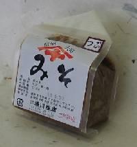 二年熟成つぶ味噌(500g)【横川商店】