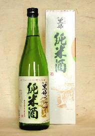 金蘭黒部 「純米酒」(720ml)