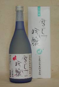 白馬錦 「吟醸酒 雪どけ吟醸」(720ml)